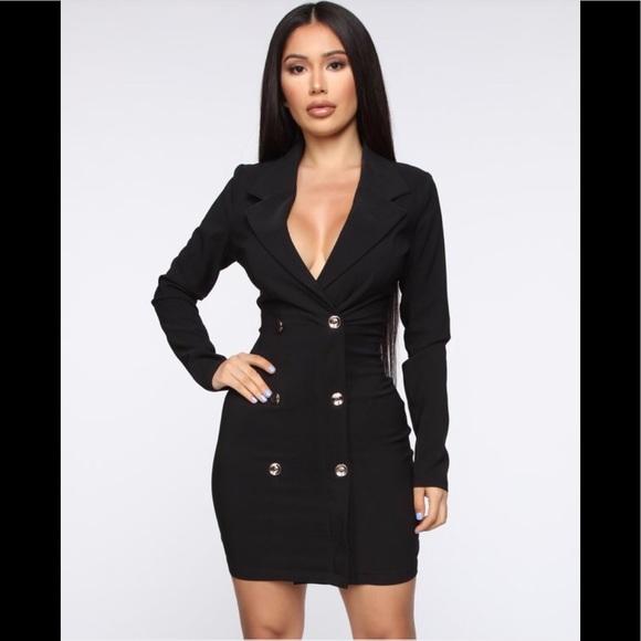 Fashion Nova Dresses & Skirts - Fashion Nova Enterprise blazer dress Small